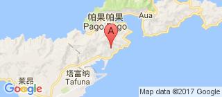 东萨摩亚的地图