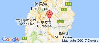 毛里求斯的地图