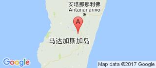 马达加斯加的地图