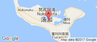 汤加的地图