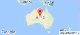 澳大利亚的地图