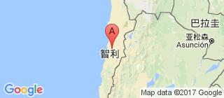 智利的地图