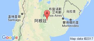 阿根廷的地图