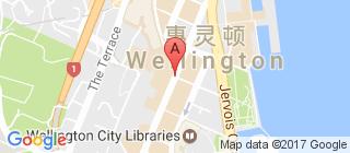 惠灵顿的地图