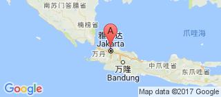 印度尼西亚的地图