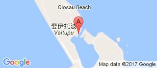 图瓦卢的地图