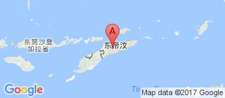 东帝汶的地图