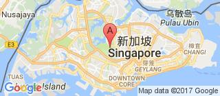 新加坡的地图