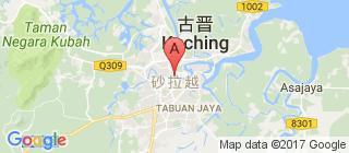 砂拉越州的地图