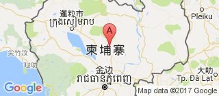 柬埔寨的地图