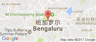 班加罗尔的地图