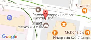 四面佛的地图