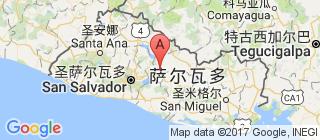 萨尔瓦多的地图