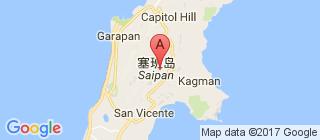 塞班岛的地图