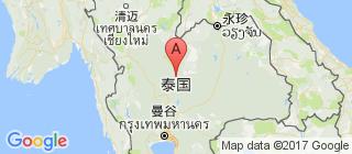 泰国的地图