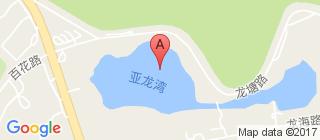 亚龙湾的地图