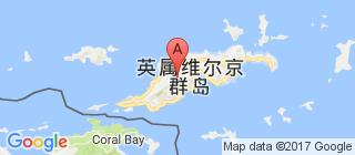 英属维尔京群岛的地图