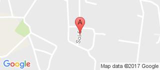 宁曼路的地图