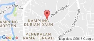 马六甲的地图