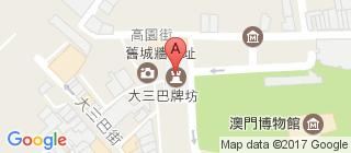大三巴的地图