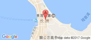 长洲的地图