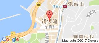 铜锣湾的地图