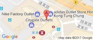 东荟城的地图