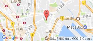 九龙城区的地图
