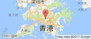 香港的地图