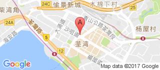 荃湾的地图