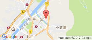沙田的地图
