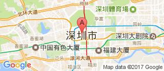 深圳的地图