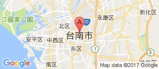 台南的地图
