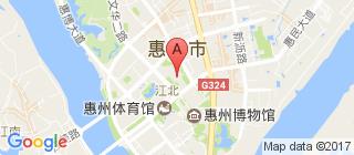 惠州的地图