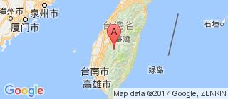 台湾的地图