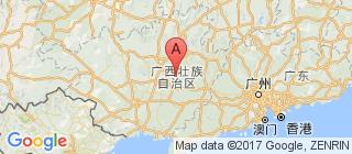 广西的地图