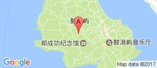 鼓浪屿的地图