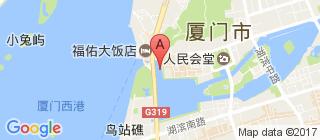 厦门的地图
