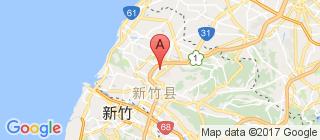 新竹的地图