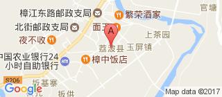 小七孔景区的地图