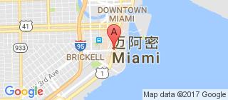 迈阿密的地图