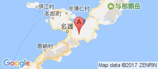 冲绳的地图
