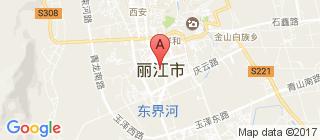 丽江的地图