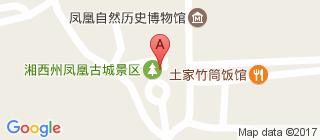 凤凰古城的地图