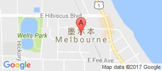 墨尔本的地图