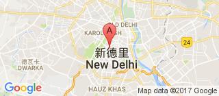 新德里的地图