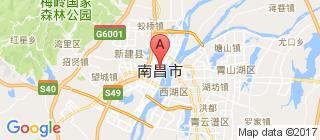 南昌的地图