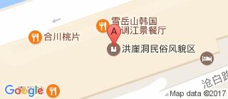 洪崖洞的地图