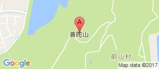 普陀山的地图