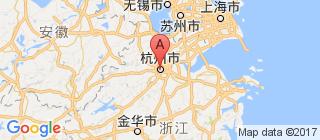 浙江的地图